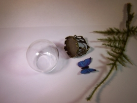 Werkwijze - Vlinderring met grote bol