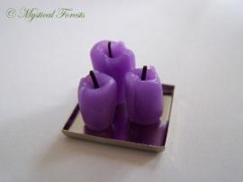 Kaarsen - paars