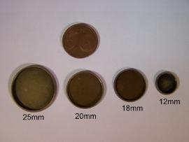 Bronskleurig rond met gladde rand (CHRBGl)