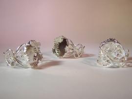 Fantasy ring - Zilverkleurig (15mm)