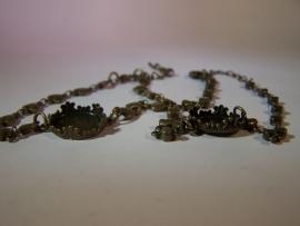 Bedelarmband brons barok