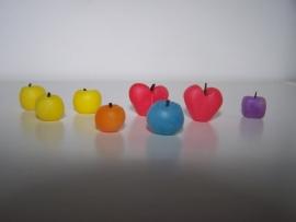 Bol, vierkant, hartvormige kaarsen