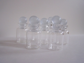 GFS-02 Mini stopflesje (2,6x1,5cm)