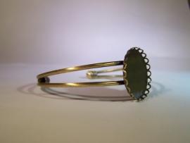 Klassieke armband, bronskleurig 1
