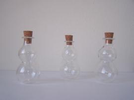 GFV-11 Bijzondere, grote fles (4,7x2,5cm)