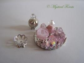 RZ-01 Schitterende roze parfumflesjes 1
