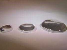 Ovalen glascabochons