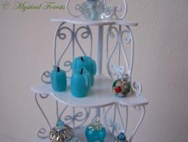 Kaarsen - blauw