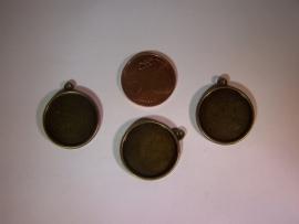 HRB-07 - Bronskleurig medaillon (20mm)