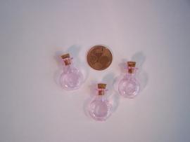 GFV-03rz Rond, roze flesje