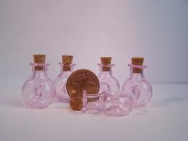 GFV-02rz Roze 'cognac' fles