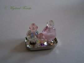 RZ-06 Schitterende roze parfumflesjes 6