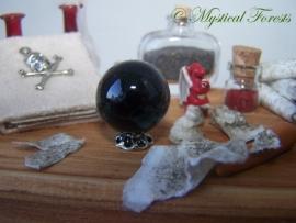 Kristallen bol - zwart