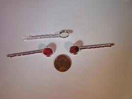 Haarschuifje - Zilverkleurig (12mm)