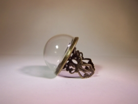 Fantasy ring - Bronskleurig (25mm)