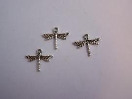 Libelle zilver