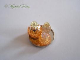 ZP Oranje parfumflesjes 1