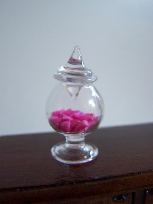 Ronde Glazen Pot.Ronde Glazen Pot Op Voet Glaswerk Mystical Forests