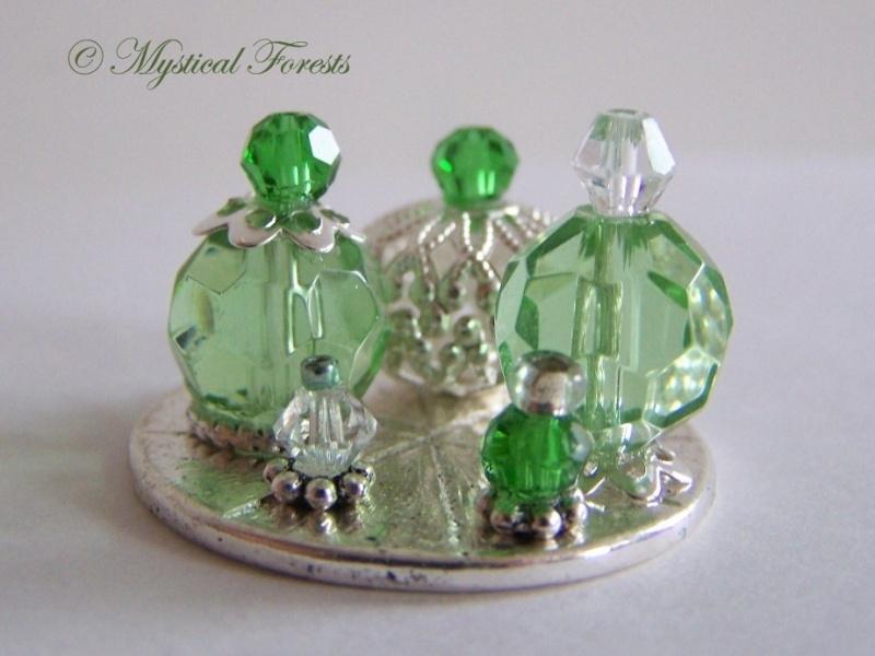 ZP Groene parfumflesjes 1