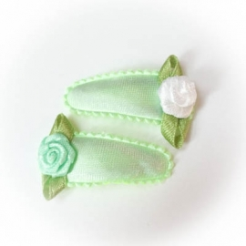 Mint groen effen