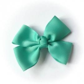 Groen Mint Blauwe strik