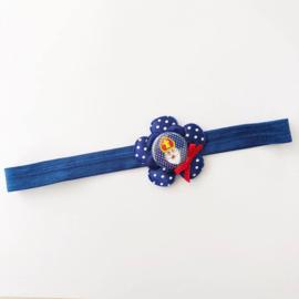 Haarbandje met Sinterklaas button