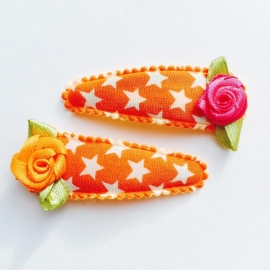 Oranje met witte ster