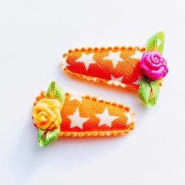 Oranje met ster 3cm