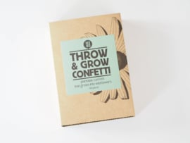 Throw & Grow confetti bloemetjes