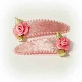 Oud roze fluweel