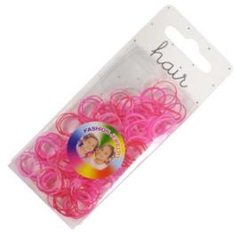 Roze Mini elastiekjes
