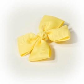 Gele strik