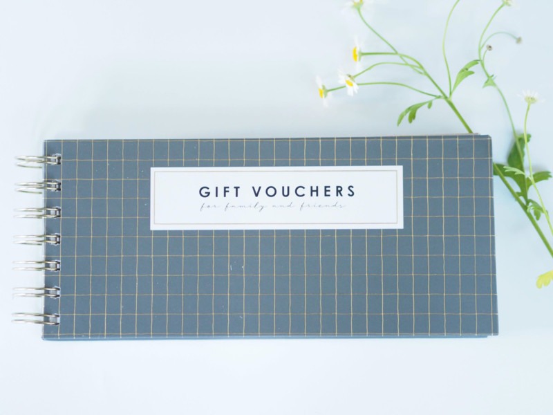 Gift vouchers for family and friends
