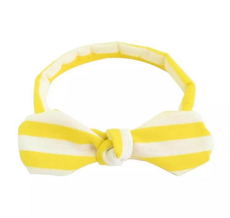Wit met gele streep