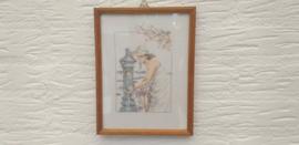 Geborduurde schilderij 1