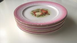 Set 8 st Societe Ceramiques ontbijtborden