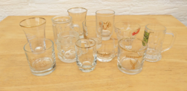 12 st shot/schnaps/borrel glazen