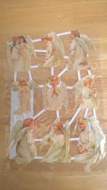 Poesieplaatjes Engelen / glitter nr 3