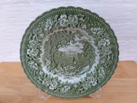 K. Aynsley ENGLISH HERITAGE green diep bord(en)