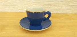 Art Design blauw kop en schotel