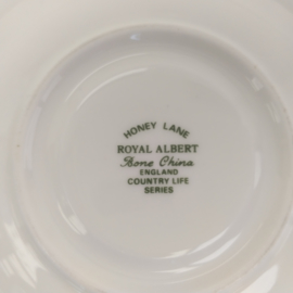 Royal Albert HONEY LANE kop en schotel