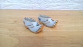Limoges barok miniaturen 2 st schoenen