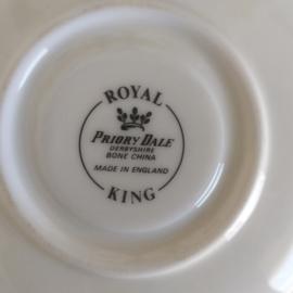 Royal Priory Dale KING kop en schotel