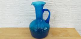 Blauw waterkan Murano Style