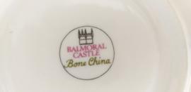 Balmoral Castle Bone China kop en schotel