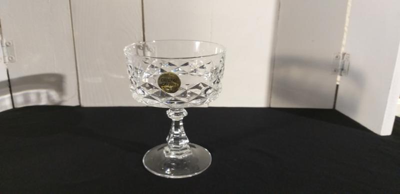 Cristal d'arques DIAMOND champagne bowl, los te koop