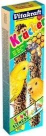 VITAKRAFT kanarie kracker honing 2 IN 1