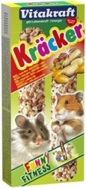 VITAKRAFT hamster kracker noot 2 IN 1