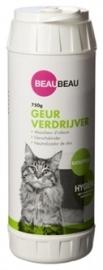 BEAU beau kattenbak geurverdrijver eucalyptus 750 GR