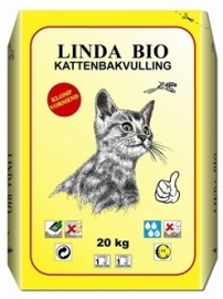LINDA bio-kattebakvulling 20 KG